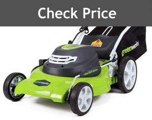 Greenworks 20 Inch Corded Lawn Mower 25022