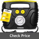 Kensun Portable Air Compressor Pump for Motorcycle Review