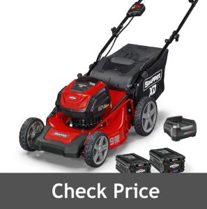 Snapper MAX Electric Cordless 19 Inch Lawnmower