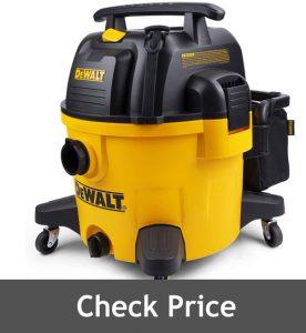 DeWALT 9 Gallon Poly WetDry Vac
