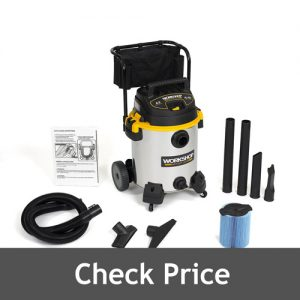 WORKSHOP 6.5 Peak Wet Dry Vacuum Cleaner
