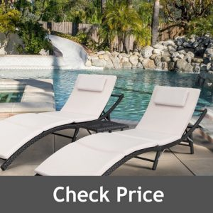 Devoko Patio Chaise Lounge Sets
