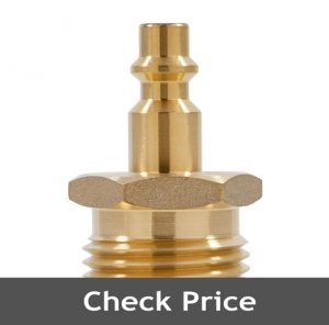 Blow Out Plug With Brass