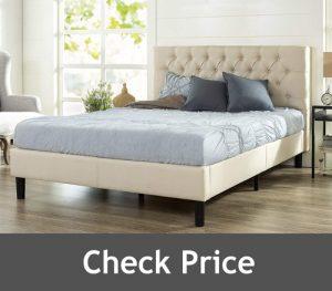 Zinus Misty Upholstered Tufted Platform Bed