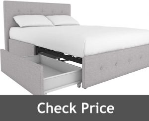 DHP Dakota Upholstered Platform Bed 1